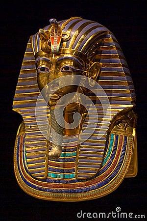 Free Tutankhamun S Burial Mask Royalty Free Stock Photos - 7450718