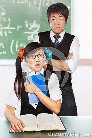 Tutoring nerd student