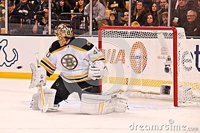 Tuukka Rask Boston Bruins Editorial Photo