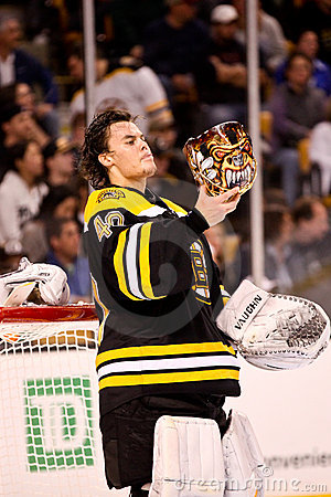 Tuukka Rask, Boston Bruins Fotografia Editoriale