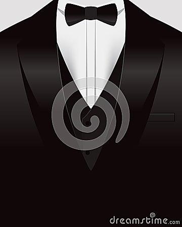 Free Tuxedo Background Stock Image - 40149251