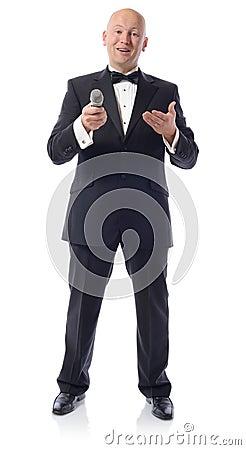 Tuxedo offering mic