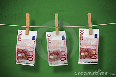 Tvätta pengar