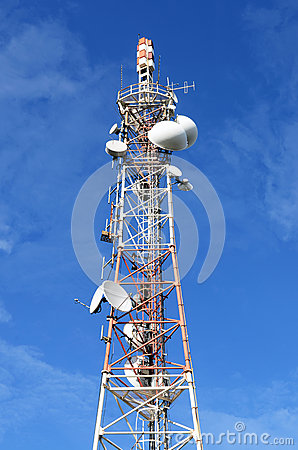 Free Tv And Radio Antena Royalty Free Stock Photography - 27757067