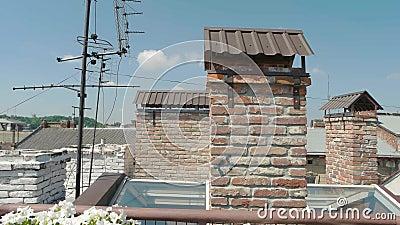 TV antena na dachu zbiory