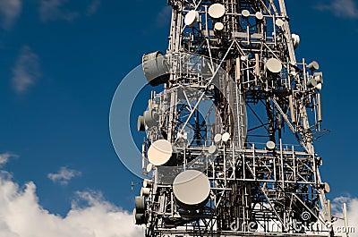 TV antenna tower