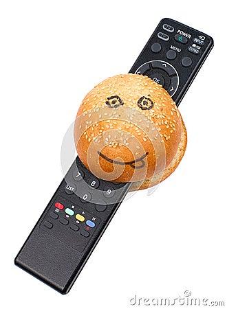 TV burger