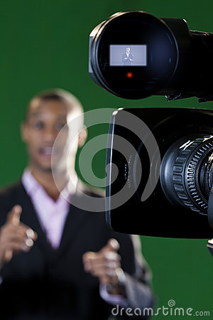 TV Camera lens and Viewfinder