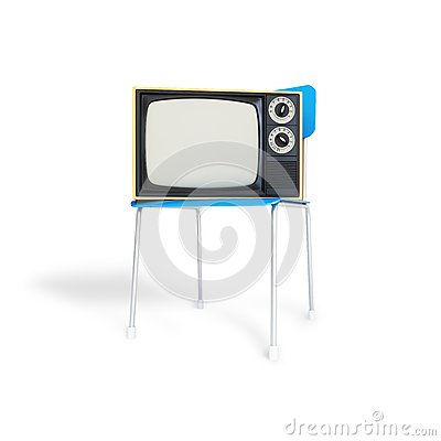 TV on the chair