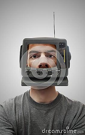 Free TV Head Stock Photos - 12468223