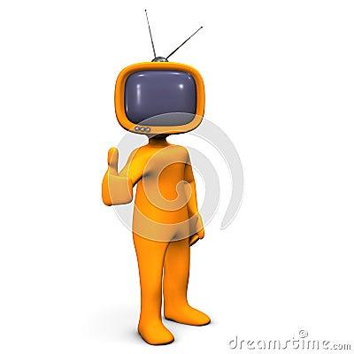 TV humanoid