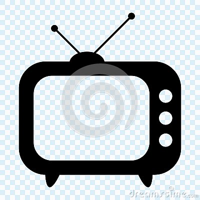 Free TV Icon, Retro TV Stock Images - 122695734