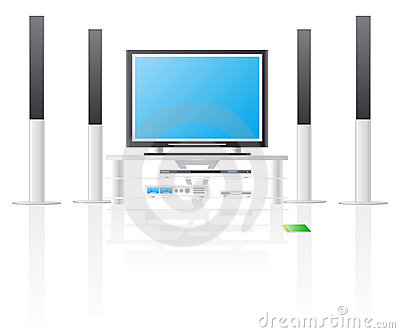 TV LCD and home cinema