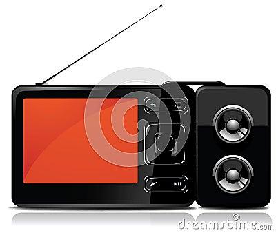 Tv/mp3 player