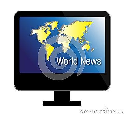 Free TV News Royalty Free Stock Image - 13486256