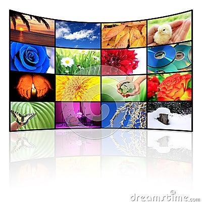 Free Tv-Panel Royalty Free Stock Photo - 18277665