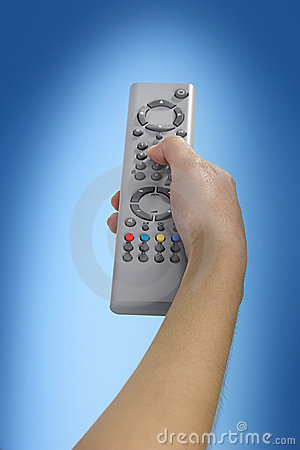 Free TV Remote Royalty Free Stock Photos - 2162748