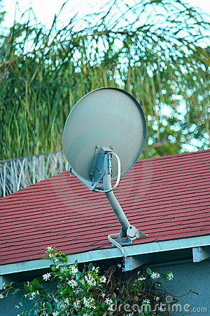 TV Satellite Dish