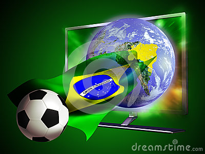 TV Soccer World Cup 2014