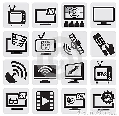 TV technology set
