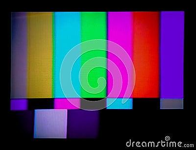 Tv test signal