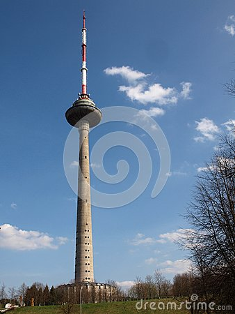 TV tower - center of broadcasting