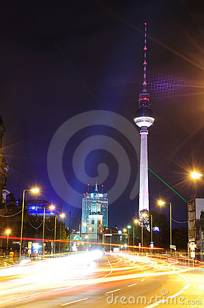 Free Tv Tower In Berlin Royalty Free Stock Photo - 11553265