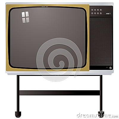Tv van de jaren 39 70 stock afbeeldingen afbeelding 4704704 for Van de tv
