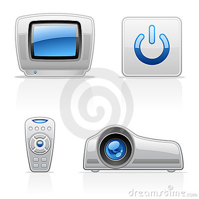 TV Video icons