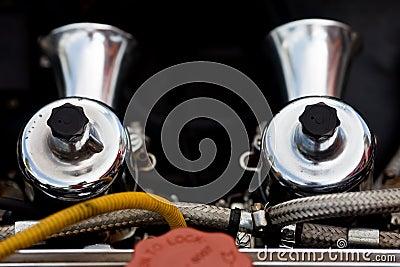 Tvilling- carburetor