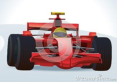 Tävlings- bil f1