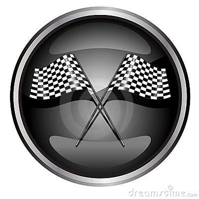 Tävlings- bilflagga