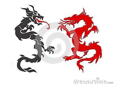 Twee draken