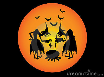 Twee heksen