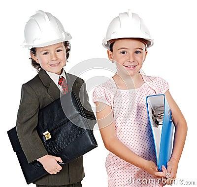 Twee ingenieurstoekomst