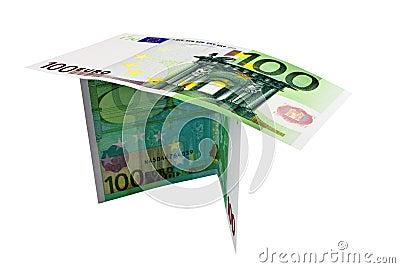 Twee nota s voor honderd Euro
