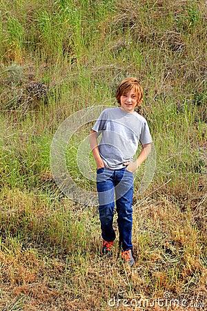 Free Tween Hiker Stock Images - 54328274