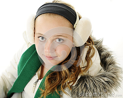 Tween Winter Portrait