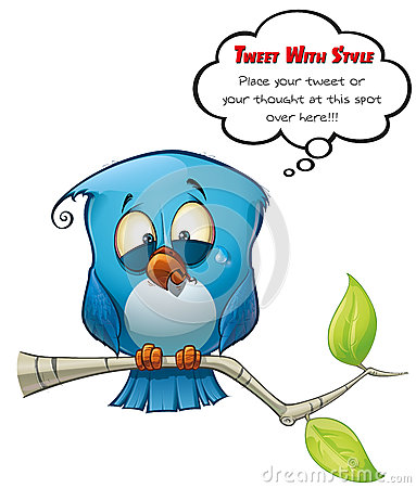 Tweeter Blue Bird Emotional