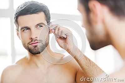 When A Man Raises His Eyebrows At You