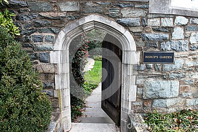 Twelfth Century Norman Stone Arch Entrance