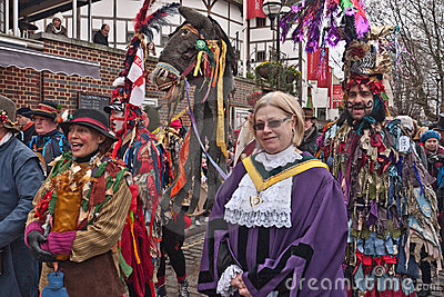 Twelfth Night Celebrations, London UK Editorial Stock Image