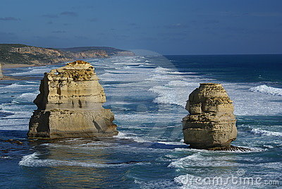 The twelve apostles (Great ocean road, Australia)