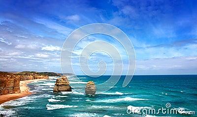 Twelve apostles seascape, Australia