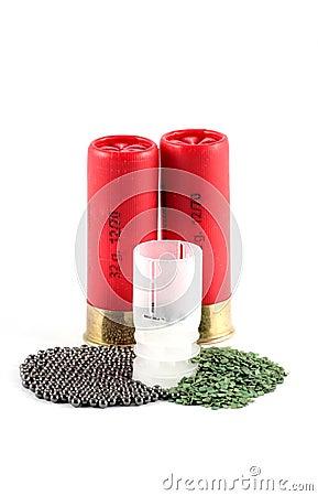 Twelvegauge cartridges
