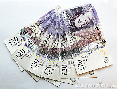 Twenty (20) Pounds Banknote