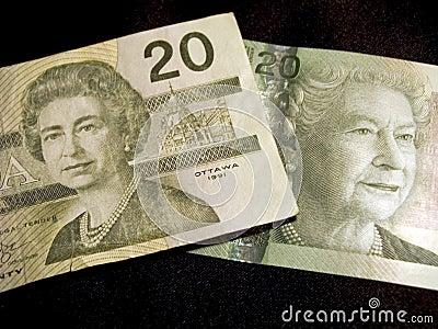 Twenty Dollar Banknotes (Canadian)