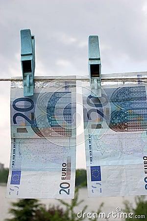 Free Twenty Euros Stock Images - 870094