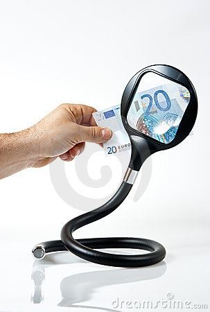 Twenty euros and a magnifying glass