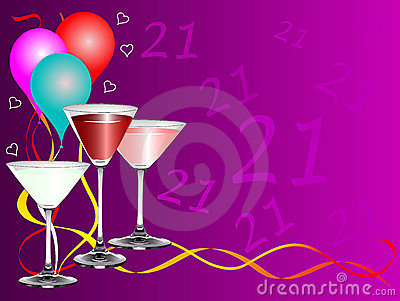 TWENTY FIRST BIRTHDAY PARTY BACKGROUND TEMPLATE (click image to zoom)